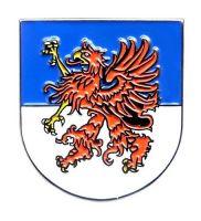 Pin Pommern Wappen Anstecker NEU Anstecknadel