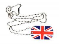 Dog Tag Fahne Großbritannien