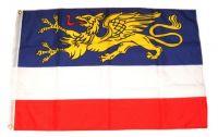 Fahne / Flagge Rostock 60 x 90 cm