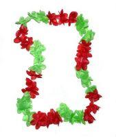 Hawaiikette grün / rot