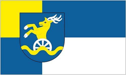 Fahne / Flagge Slowakei - Kraj Bratislava 90 x 150 cm