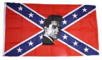 Fahne / Flagge Südstaaten - Elvis 90 x 150 cm