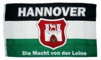 Fahne / Flagge Hannover Macht von der Leine 90 x 150 cm