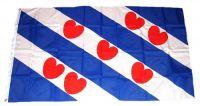 Fahne / Flagge Niederlande - Friesland 90 x 150 cm