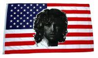 Fahne / Flagge USA - Jim Morrison 90 x 150 cm