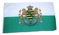 Fahne / Flagge Königreich Sachsen Wappen 60 x 90 cm