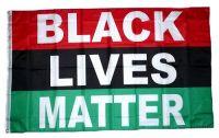 Fahne / Flagge Black Lives Matter 90 x 150 cm