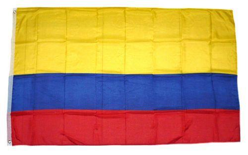 Flagge / Fahne Kolumbien Hissflagge 90 x 150 cm