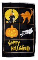 Fahne / Flagge Happy Halloween Banner 90 x 150 cm