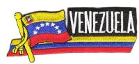 Fahnen Sidekick Aufnäher Venezuela