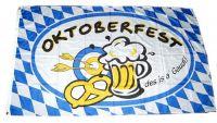Fahne / Flagge Bayern Oktoberfest 60 x 90 cm