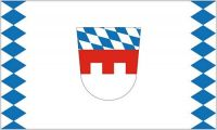 Fahne / Flagge Landkreis Landshut 90 x 150 cm