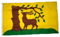 Fahne / Flagge England - Berkshire new 90 x 150 cm