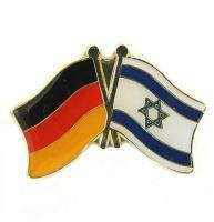 Fahnen Freundschaftspin Anstecker Israel