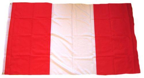 Flagge / Fahne Peru Hissflagge 90 x 150 cm