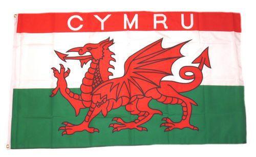 Flagge / Fahne Wales CYMRU Hissflagge 90 x 150 cm