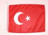 Bootsflagge Türkei 30 x 45 cm