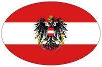 Wappen Aufkleber Sticker Österreich Adler