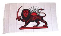 Fahne / Flagge Iran Persischer Löwe 90 x 150 cm