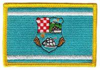 Fahnen Aufnäher Kroatien - Primorje Gorski Kotar