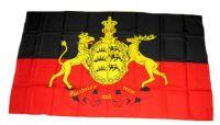 Fahne / Flagge Württemberg Furchtlos & Treu 30 x 45 cm