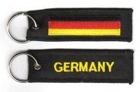 Fahnen Schlüsselanhänger Deutschland