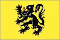 Fahnen Aufkleber Sticker Belgien - Flandern