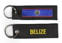 Fahnen Schlüsselanhänger Belize