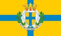 Fahne / Flagge Italien - Parma 90 x 150 cm