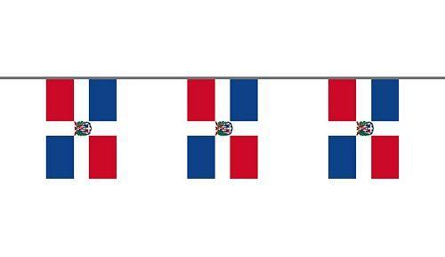 Flaggenkette Dominikanische Repubik 6 m