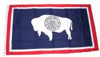 Fahne / Flagge USA - Wyoming 90 x 150 cm