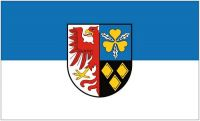 Fahne / Flagge Landkreis Stendal 90 x 150 cm