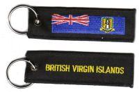 Schlüsselanhänger British Virgin Island