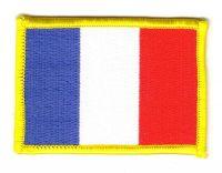 Fahnen Aufnäher Frankreich
