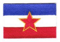 Aufnäher Patch Jugoslawien Stern