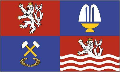 Fahne / Flagge Tschechien - Karlsbad 90 x 150 cm