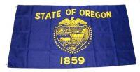 Fahne / Flagge USA - Oregon 90 x 150 cm