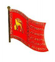 Fahnen Anstecker Pin Italien - Venedig Yachtflagge
