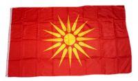 Fahne / Flagge Mazedonien alt 90 x 150 cm