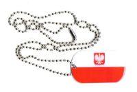 Dog Tag Fahne Polen Adler