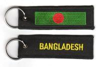 Fahnen Schlüsselanhänger Bangladesch