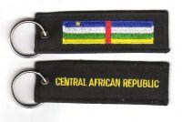 Fahnen Schlüsselanhänger Zentralafrikanische Republik