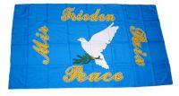 Fahne / Flagge Friedenstaube 30 x 45 cm