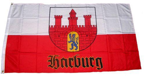 Flagge / Fahne Hamburg Harburg Hissflagge 90 x 150 cm