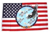 Fahne / Flagge USA - Winds over 90 x 150 cm