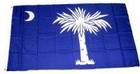Fahne / Flagge USA - South Carolina  90 x 150 cm