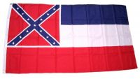 Fahne / Flagge USA - Mississippi 90 x 150 cm