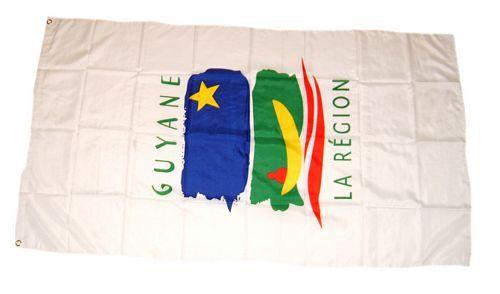 Fahne / Flagge Frankreich - Französisch Guyana 90 x 150 cm