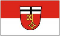Fahne / Flagge Linz am Rhein 90 x 150 cm