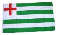 Fahne / Flagge Großbritannien Tudor Green White Stripe 90 x 150 cm